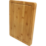 Solid Bamboo Cutting Board w/ Juice Groove - abby+anna's boutique