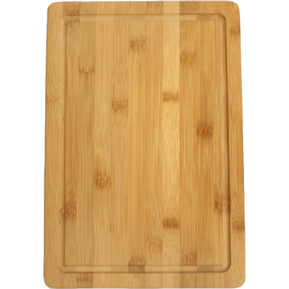 Solid Bamboo Cutting Board w/ Juice Groove (5575994736805)