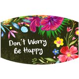 Don't Worry, Be Happy - Adult & Youth  Non-Medical Face Mask - abby+anna's boutique