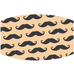 Mustache - Adult & Youth  Non-Medical Face Mask - abby+anna's boutique