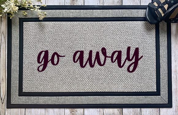 Go Away Door Mat - abby+anna's boutique