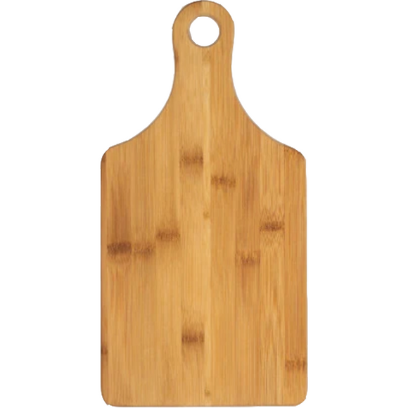 Bamboo Paddle-Shape Cutting Board - abby+anna's boutique