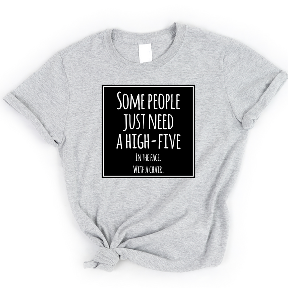 High Five - Graphic Tee - abby+anna's boutique