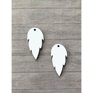 Feather Earrings - abby+anna's boutique (5423660695717)