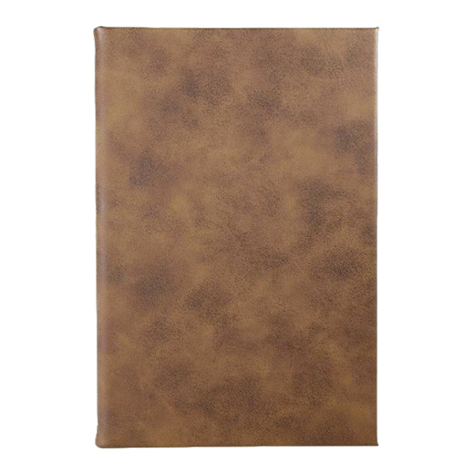 Rustic/Gold Leatherette Journal (5627988181157)