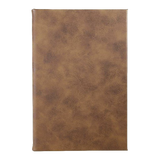 Rustic/Gold Leatherette Journal - abby+anna's boutique