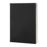 Black/Silver Leatherette Journal - abby+anna's boutique