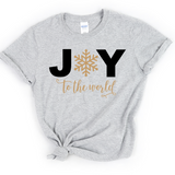 Joy to World - Tee Shirt - abby+anna's boutique