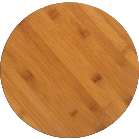 Bamboo Circle Cutting Board - abby+anna's boutique