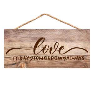 Copy of Farm Love - Faux Wood Wall Sign (6264329142453)