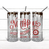 Copy of There's Some Ho's In This House - Skinny Tumbler with Optional Faux Whipped Cream Top (6076637446325)