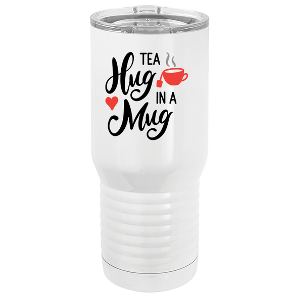Tea, Hug in a Mug - Tumbler - abby+anna's boutique
