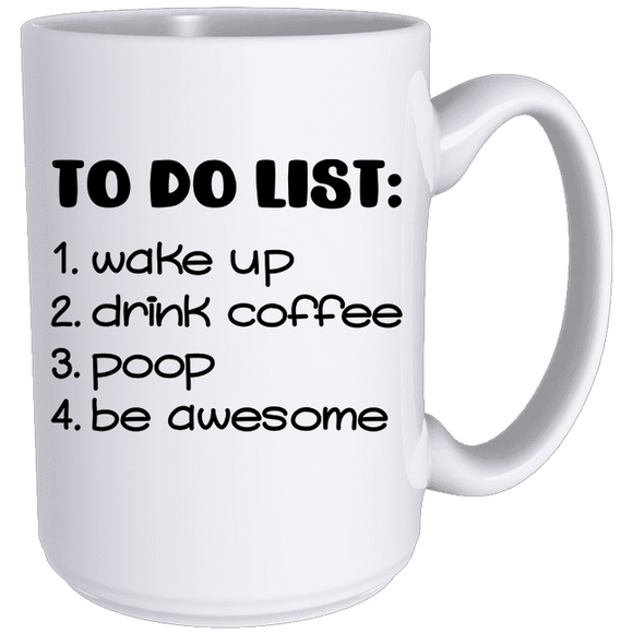 To Do List - Classic Mug - abby+anna's boutique