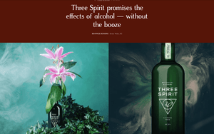 Lifestyle Asia: Three Spirit promises the effects of alcohol - without the booze