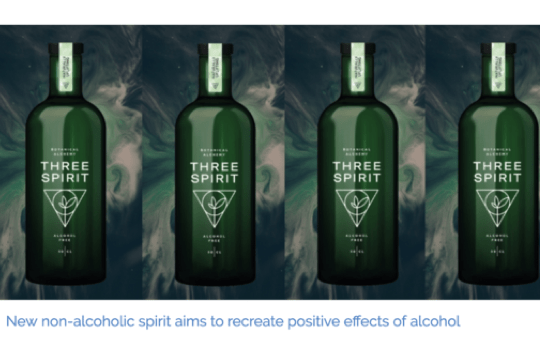 Imbibe: New non-alcoholic spirit aims to recreate the positive effects of alcohol