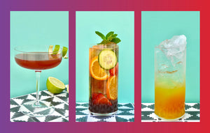 Three summer drinks to kick-start the weekend.