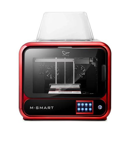 Junco M-Smart Desktop 3D Printer, Upgrade version of QiDi X-Smart, Built Volume 6.7''x5.9''x6.3''(170x150x160mm) WiFi Connection, Precise Printing with ABS,PLA,TPU,Flexible Filament