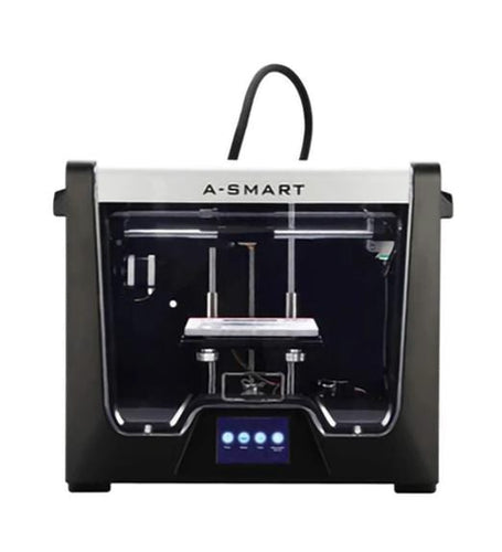 Junco Model A-Smart Desktop 3D Printer (Upgrade version of QiDi X-Smart), 3.5 Inch Touchscreen, WiFi, Precise Printing with ABS,PLA,TPU,Flexible Filament, 5.9''x5.9''x5.9''(150x150x150mm)