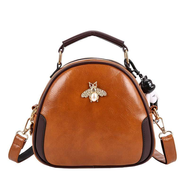 Stylish Vintage Little Bee Crossbody Bags