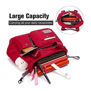 Daily Life  Oxford Multi-pocket  Large Capacity Waterproof Shoulder Bag