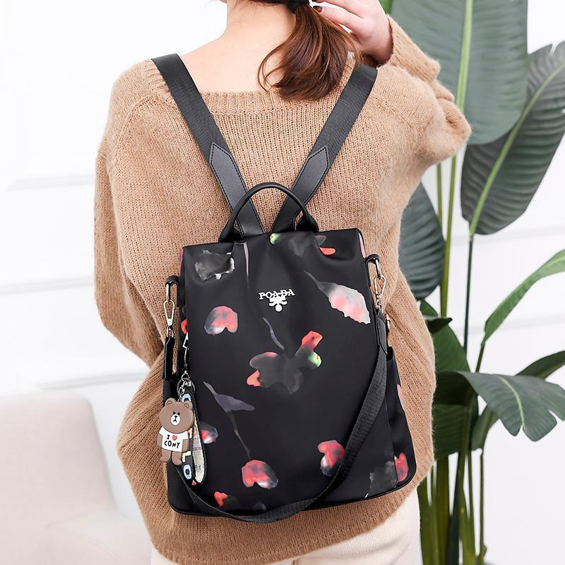 【Last Day 50% Off】Oxford Printing Design Anti Theft Backpack
