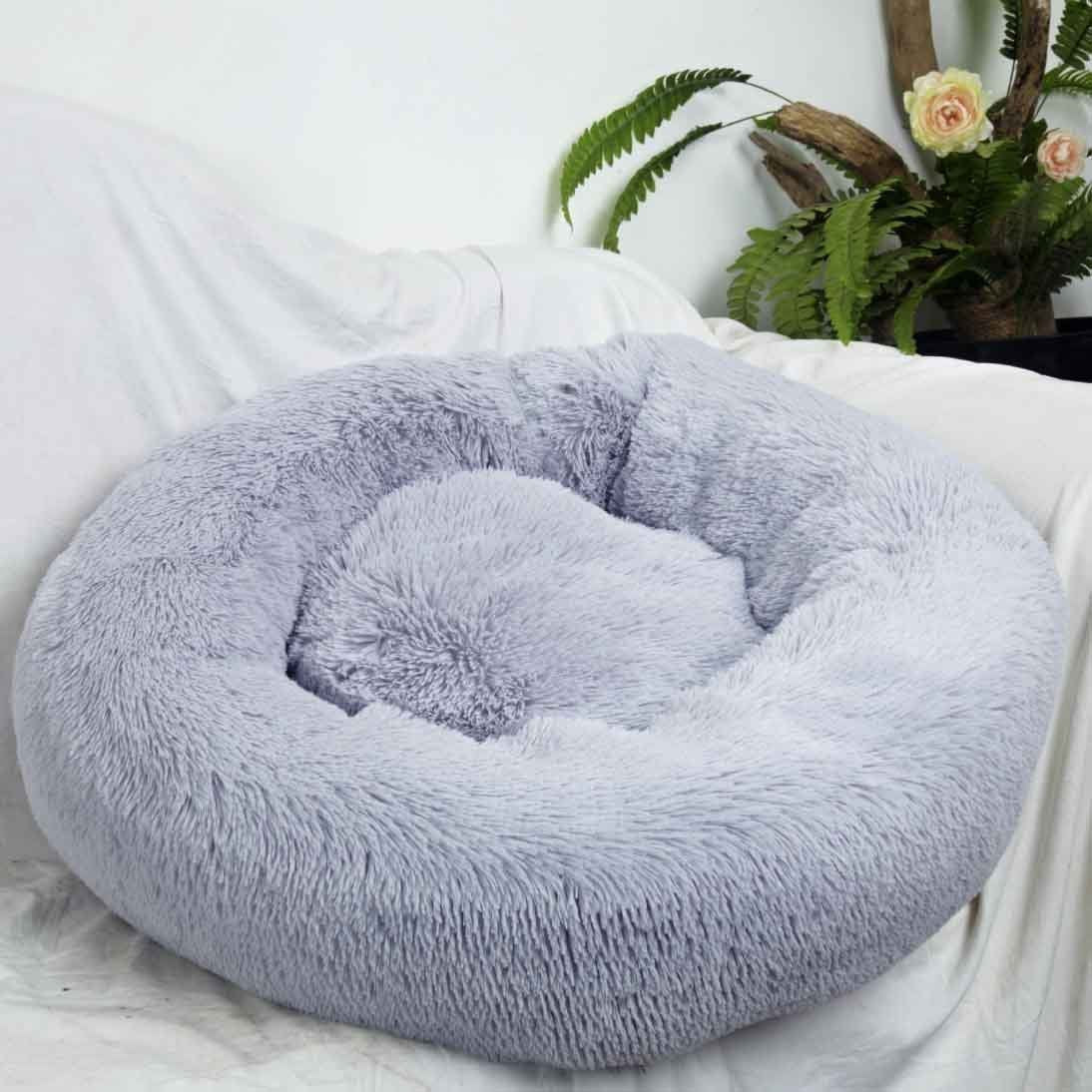 【 FOR YOUR CUTE BABY】Pets Dount Calming Bed