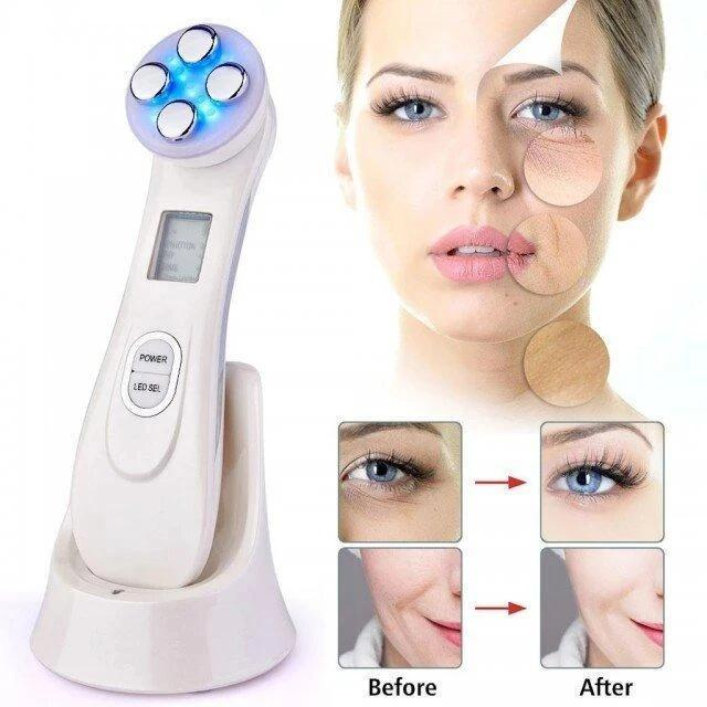 💞5 in 1 LED Ultrasonic Anti-Aging Skin Tightening Device