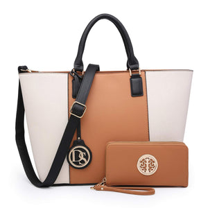 Fashion Women Matching Satchel