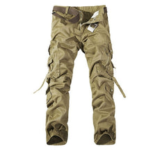 Load image into Gallery viewer, Mens Cargo Pants With Belt