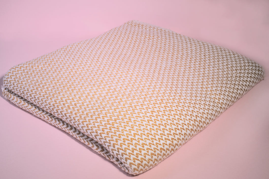 GOLD CASHMERE THROW