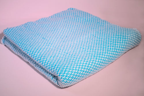 TURQUOISE CASHMERE THROW