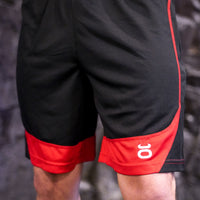 Tenacity shorts black/red