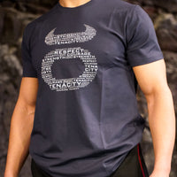 Blue/Grey Tenacity T-shirt
