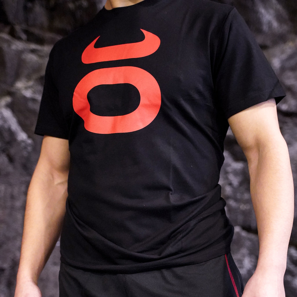 Tenacity T-shirt black with red logo