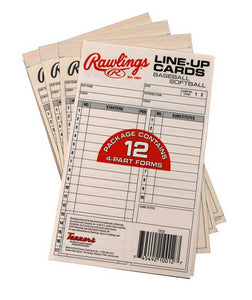 Rawlings lineup cards