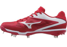 Load image into Gallery viewer, Mizuno 9-Spike Heist IQ Low Metal Cleats