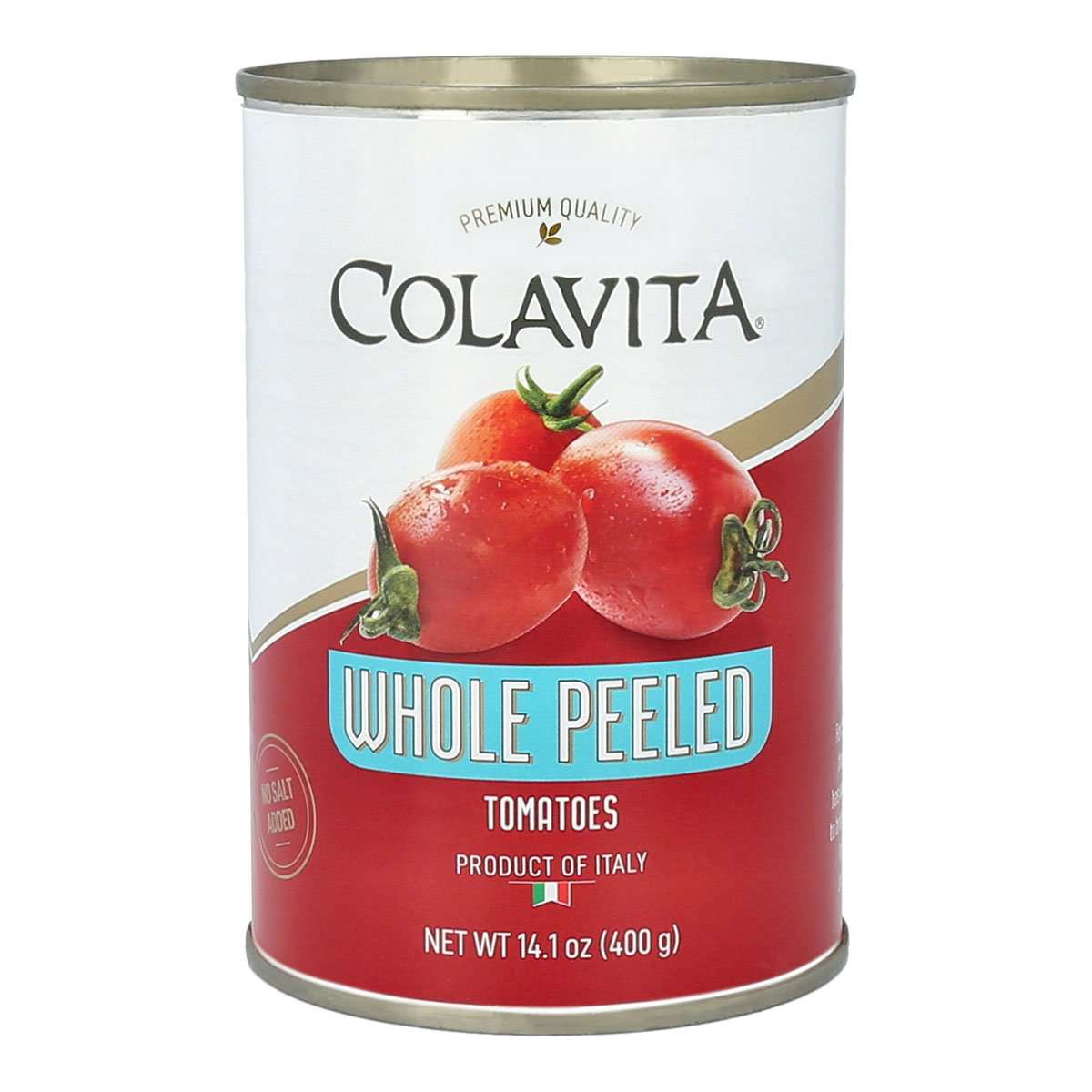 WHOLE PEELED CANNED TOMATOES – 14.1OZ – COLAVITA – PREMIUM TOMATOES FOR SAUCES AND GRAVY – IMPORTED FROM ITALY