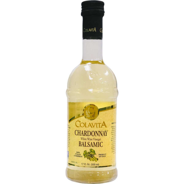 Chardonnay Balsamic White Wine Vinegar - Colavita Imported from Italy - 500ml