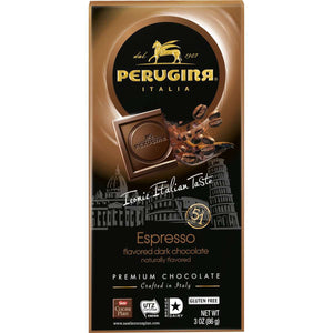 Perugina Dark Chocolate Espresso Bar, 86 g