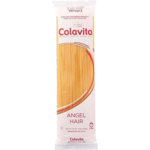 Colavita Capellini (Angel Hair) Pasta, 16 Ounce