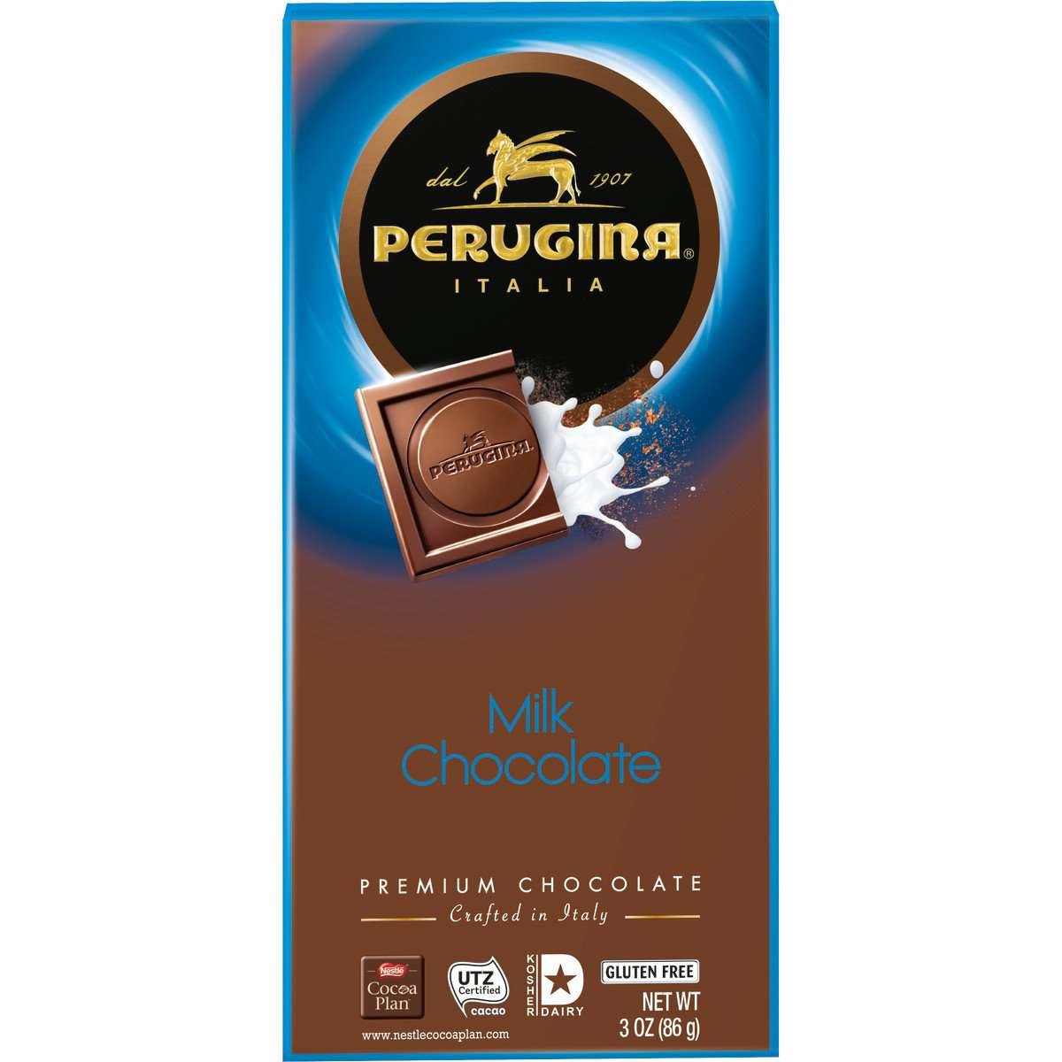 Perugina Milk Chocolate Bar, 86 g