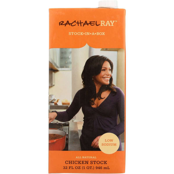 Rachael Ray Low Sodium Chicken Stock, 32 Fl Oz