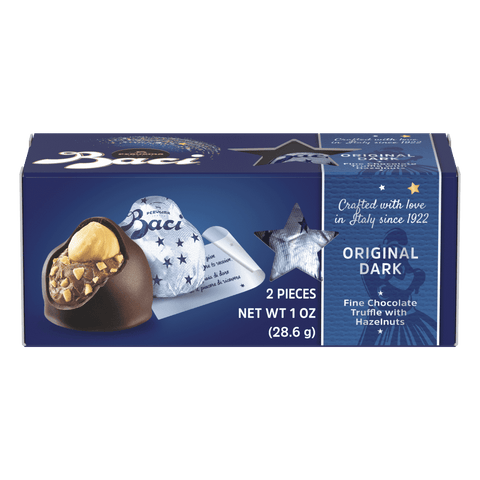 Baci Perugina Original Dark Chocolate Truffles Stick 2 Pieces, 28.6 g