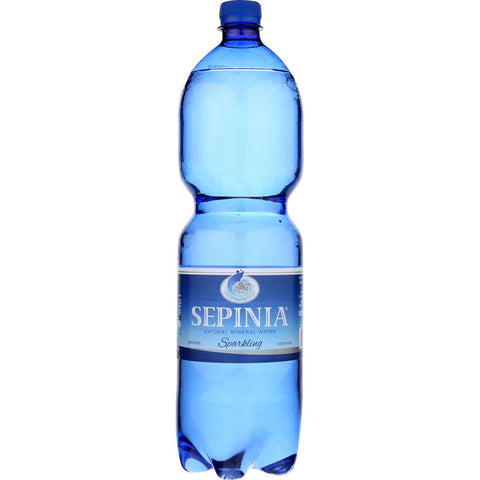 Sepina Natural Sparkling Mineral Water From Molise, 50.7 Fl Oz