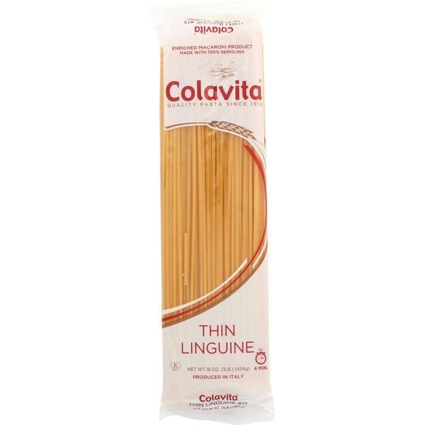 Colavita Thin Linguine Pasta, 16 Ounce