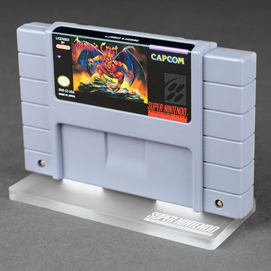 Game Cartridge Display Stand - SNES - Super Nintendo Entertainment System
