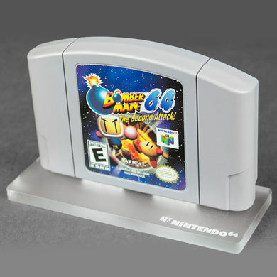 N64 Game Cartridge Display Stand - Nintendo 64