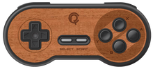 Load image into Gallery viewer, 8BitDo SNES Wireless Controller Real Wood Veneer Kit