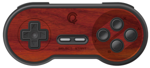8BitDo SNES Wireless Controller Real Wood Veneer Kit