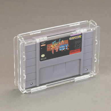 Nintendo SNES Game Cartridge - Köffin Protective Display Case
